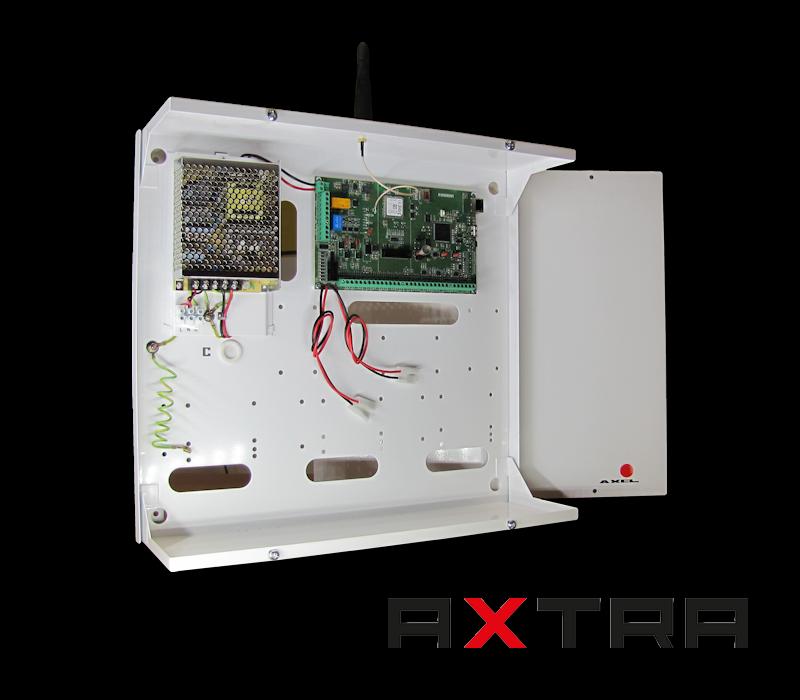 Centrale allarme e domotica AXTRA per casa e i siti commerciali - Axel Srl