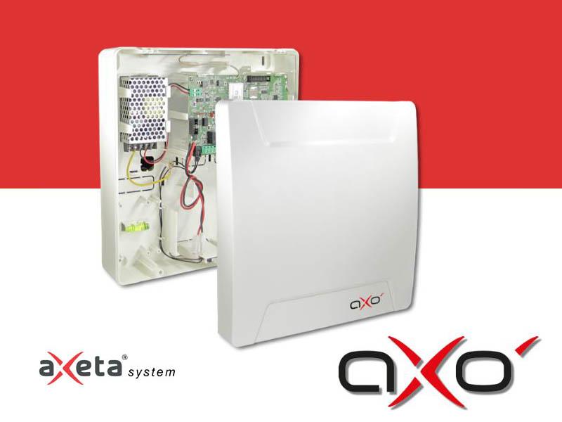 Centrali allarme intrusione: sistema Axo con aXeta®
