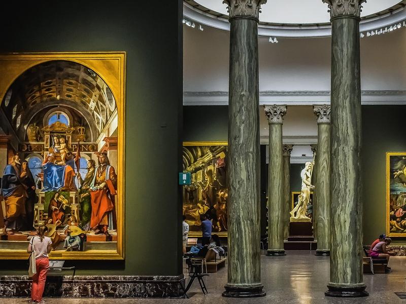 sicurezza nei musei